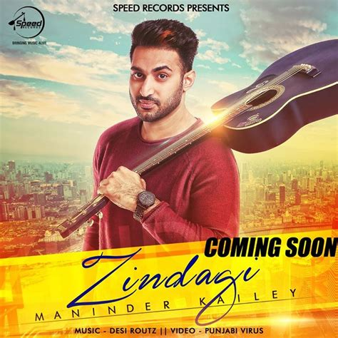 song by djpunjab zindagi maninder kailey album djpunjab