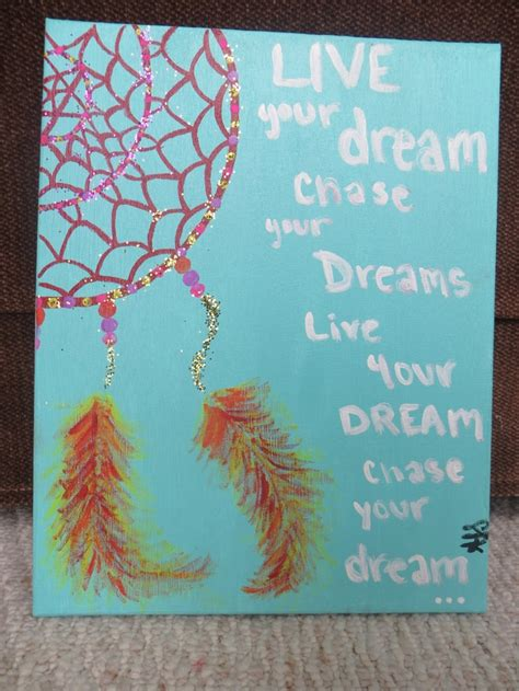 acrylic paint quotes catcher painting i want to paint something like this
