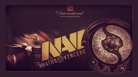 dota 2 navi wallpaper natus vincere na vi dota 2 the international wallpapers