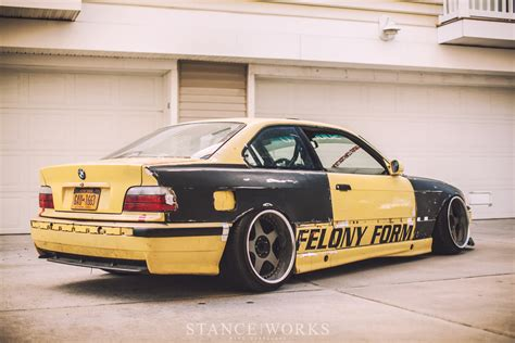 what is the form of bmw felony form the embodiment of ambition stanceworks