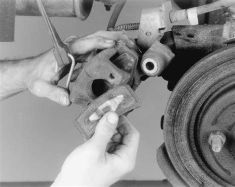 remove brake rotor 1988 subaru justy repair guides rear disc brakes brake pads autozone com