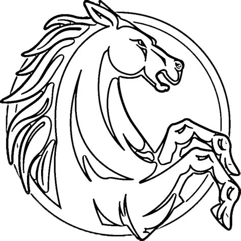 coloring pages of horseshoes coloring pages for adults coloring pages
