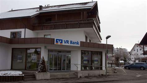 vr bank geldautomaten vr bank reduziert ihren service in lechbruck rathauschef