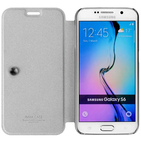 Termurah Imak Flip Leather Cover Series For Samsung Galaxy S6 1 imak flip leather cover series for samsung galaxy s6