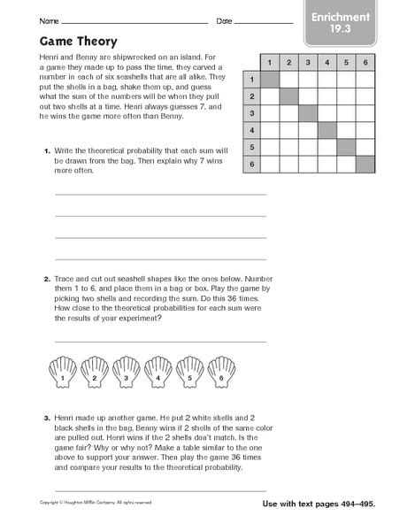 4th grade math enrichment worksheets math enrichment worksheets for 3rd grade on 3rd grade fraction activities and worksheets