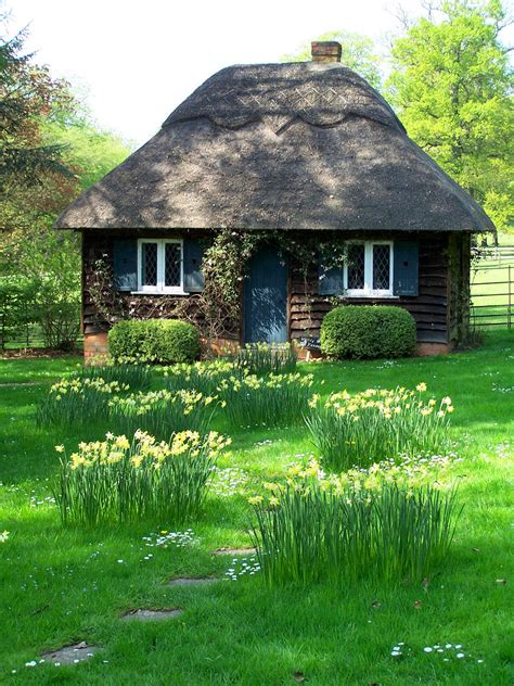 small english cottage plans fairy tale cottages