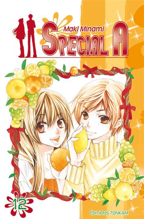Special A Vol 9 vol 12 special a news