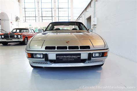 Porsche 924 Turbo by 1981 Porsche 924 Turbo Silver Classic Throttle Shop