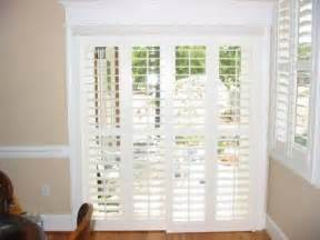 Patio Door Shades Options Plantation Shutters For Sliding Glass Door Ideas For New