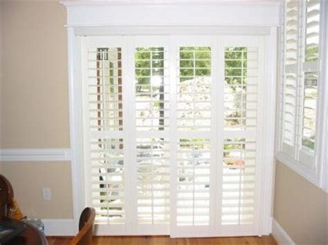 Patio Door Coverings Options Plantation Shutters For Sliding Glass Door Ideas For New Home Sliding Glass Door