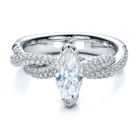 marquise engagement ring vanna k 100063