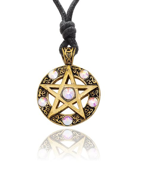 Handmade Brass Jewelry - pentagram handmade brass necklace pendant jewelry ebay