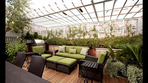 ideas design creative rooftop garden design ideas