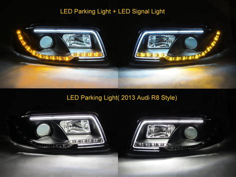 audi a4 headlights a4 s4 2001 2004 4d b6 8e projector led r8 headlight w