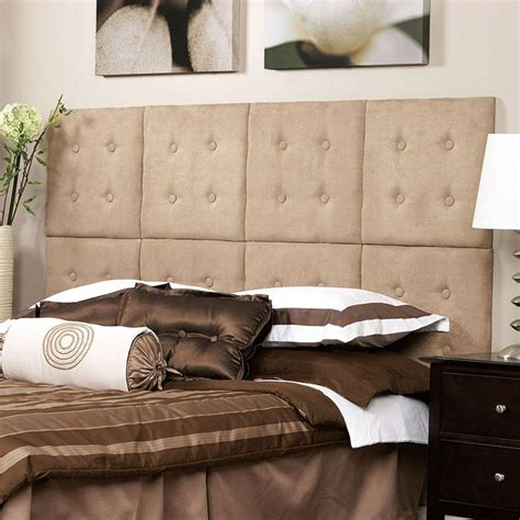 next headboard az home and gifts next luxe microsuede taupe queen