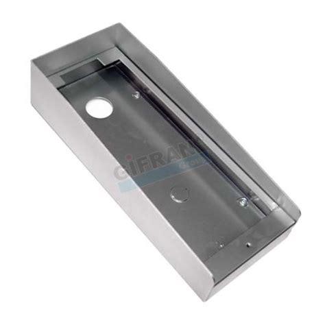 tettoia esterna protezione pioggia videocitofono tettoia opzionale per