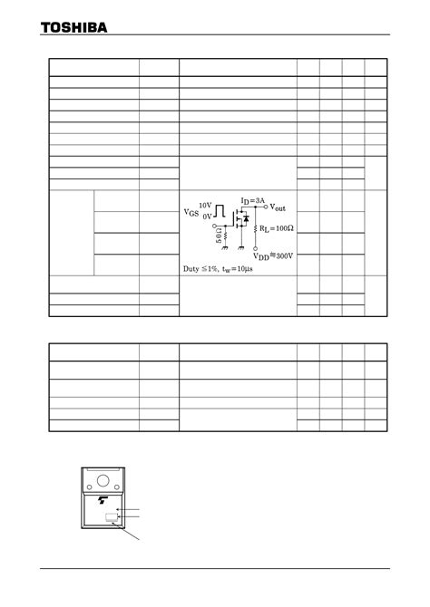 transistor k2545 datasheet datasheet k2545 pdf toshiba semiconductor 2sk2545 1 page