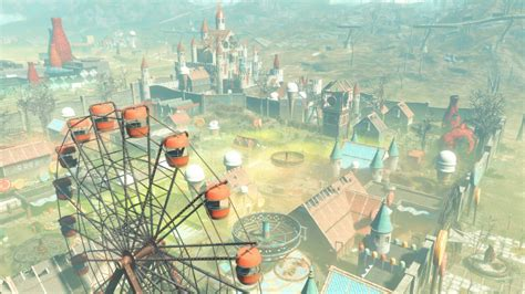 fallout 4 nuka world park t shirt small heather grey fallout 4 nuka world complete achievements trophies guide