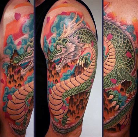 quarter sleeve watercolor tattoo 50 designs for flaming ink ideas