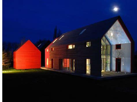 modern barn house    panoramas