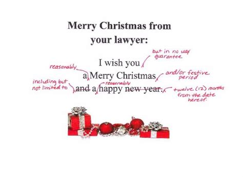 merry christmas   lawyer funny