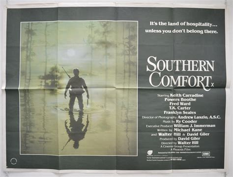 southern comfort full movie southern comfort original cinema movie poster from