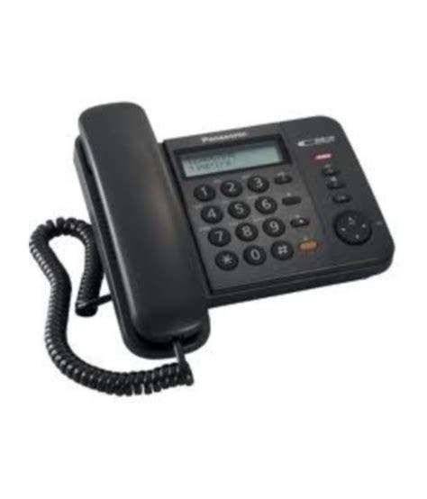 Panasonic Corded Phone Kxts505 buy panasonic kx ts580mx corded landline phone black at best price in india snapdeal