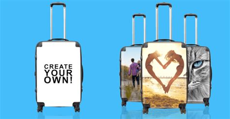 ended win personalised luggage design it yourself
