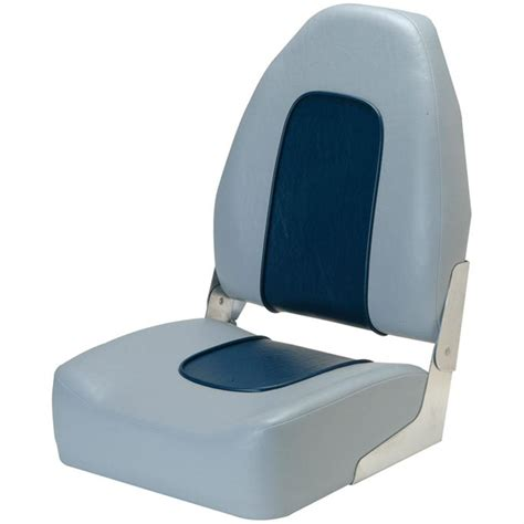 garelick boat seats garelick eez in 174 high back boat seat 86060 fold down