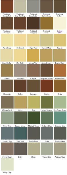 behr deck  color chart google search decks