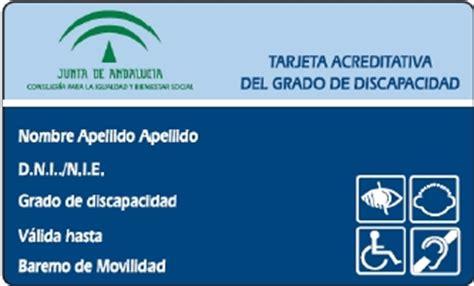 191 Puedo Solicitar Un Grado De Discapacidad Por La   adisvi tarjeta discapacidad