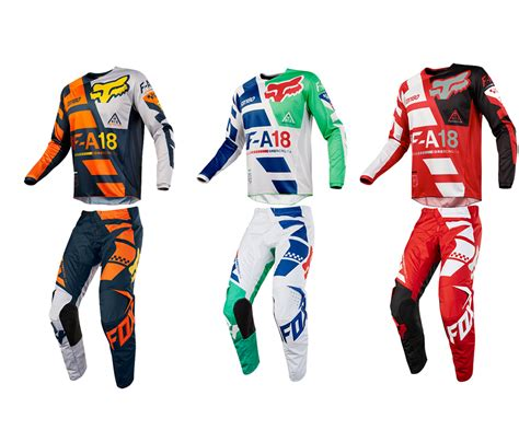 fox motocross gear combos fox racing 2018 180 sayak jersey mens combo