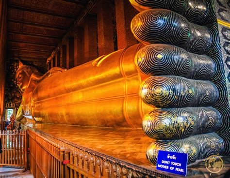 Reclining Buddha Temple Bangkok by The Temple Of The Reclining Buddha Wat Pho Bangkok