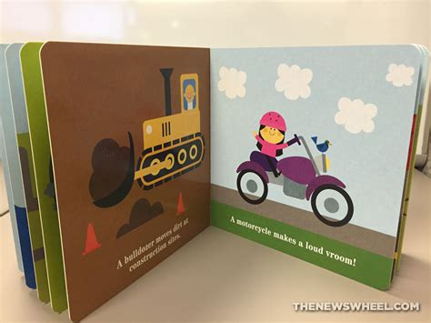 board book books board book review things that go vroom a book of