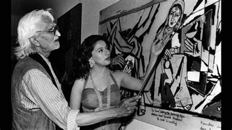 M F Hussain Sketches by Mf Husain Anniversary Meet The 5 Muses Of The