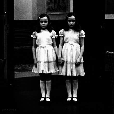 hantu format gif stanley kubrick grady twins gif find share on giphy