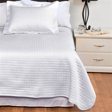 quilted cotton coverlet downtown urban quilted collection coverlet queen
