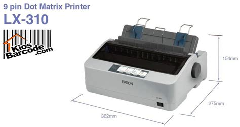 Printer Epson Lx 310 Dotmatrix printer epson dot matrix lx 310 kios barcode