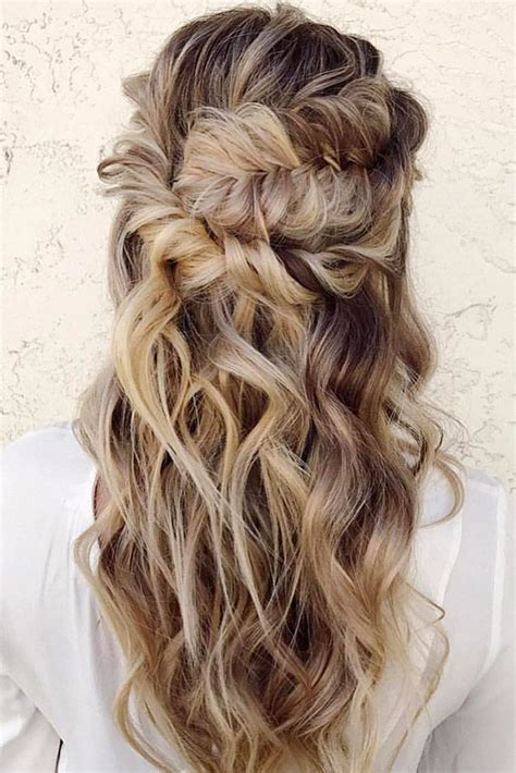American Curly Wedding Hairstyles by Half Up Half Wedding Hairstyles Best Cuts Ideas
