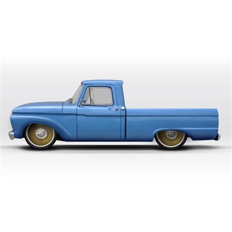 64 Ford F100 1961 64 ford f100 front dropmember