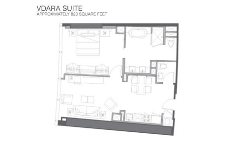 vdara floor plan vdara rooms suites