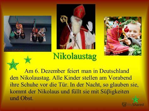 wann kommt der nikolaus in deutschland презентация на тему quot weihnachtskalender adventskranz