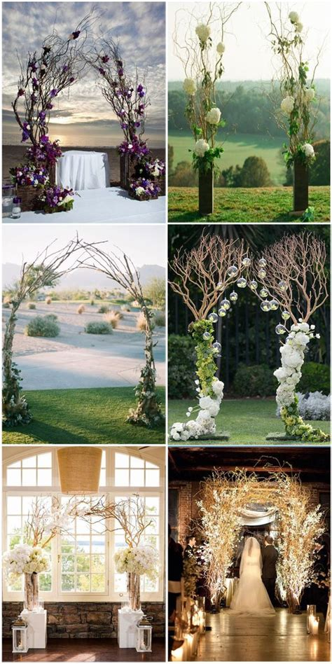 Wedding Arch Branches by 25 Best Ideas About Rustic Wedding Arches On