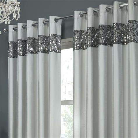 Silver Glitter Curtains Silver Glitter Curtains Teawing Co