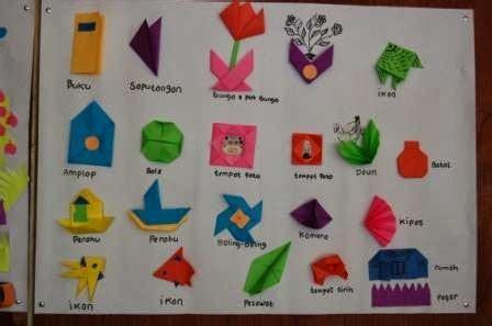 membuat origami sederhana untuk anak paud manfaat seni kertas origami dan kirigami untuk anak anak