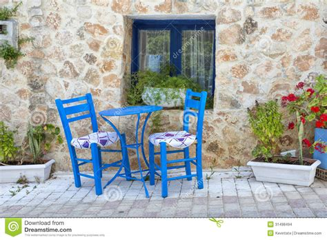 House Plans Mediterranean Greek Taverna Stock Images Image 31498494