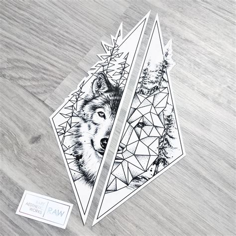 matching wolf tattoos wolf nature tree matching for forearms design for