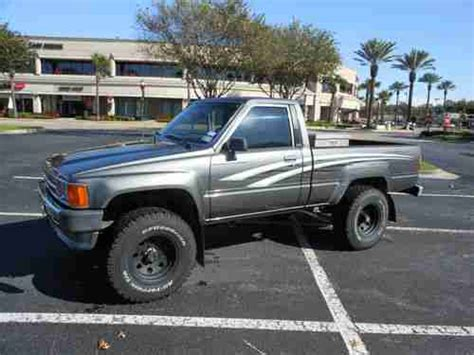 Toyota 4x4 1988 Purchase Used 1988 Toyota Tacoma 4x4 In Houston