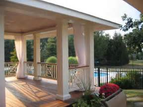 Mesh Outdoor Curtains Porch Screens Using Outdoor Mesh Curtains Attachment Options