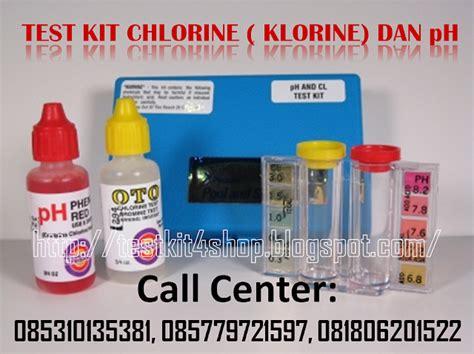 test kit klorin dan ph test kit shop toko yang menjual aneka macam jenis test kit atau
